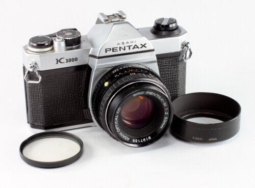 Asahi Pentax K 1000, #7705372, SMC Pentax-M 2/50 mm