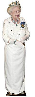 Diamond Jubilee THE QUEEN Elizabeth II 2nd LIFESIZE CARDBOARD CUTOUT Royal Crown