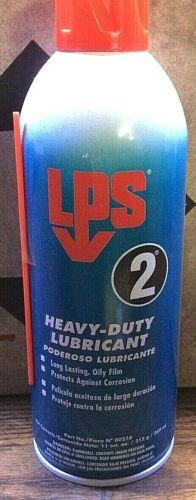 2 LPS 2 Heavy-Duty Lubricant  11 oz Aerosol  cans