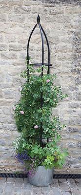 Smart Garden Oxford Metal Garden Obelisk 2.1m
