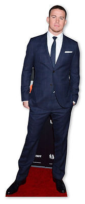 CHANNING TATUM LIFESIZE CARDBOARD CUTOUT STANDEE STANDUP Hollywood Star Actor - Hollywood Star Cutouts