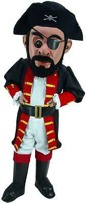 Professional Pirate Costumes (Captain Blythe Pirate Professional Quality Lightweight Mascot)