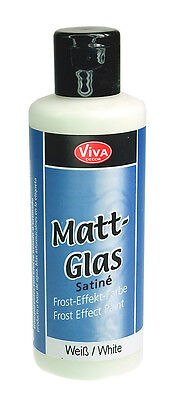 Viva Decor - Satiné Satine / Matt-Glas 82 ml - Weiß