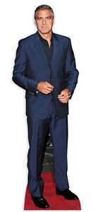 GEORGE-CLOONEY-LIFESIZE-CARDBOARD-CUTOUT-STANDEE-STANDUP-Hollywood-Star-ER-Suit