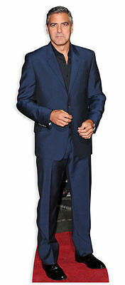 GEORGE CLOONEY LIFESIZE CARDBOARD CUTOUT STANDEE STANDUP Hollywood Star ER Suit - Hollywood Star Cutouts