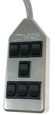 Air Ride Switch Box AVS 7 Rocker Billet Air Bag Suspension System Controller