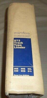 Cat Caterpillar 973 Track Type Loader Dozer Service Shop Repair Manual