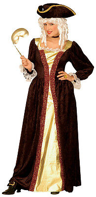 me Barock Kostüm NEU - Damen Karneval Fasching Verkleidung K (Venezianische Kostüm)