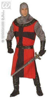 Mittelalterliches Ritter-Kostüm für Herren - XL  Mittelalter Kreuzritter  - Ritter Kreuzritter Kostüm