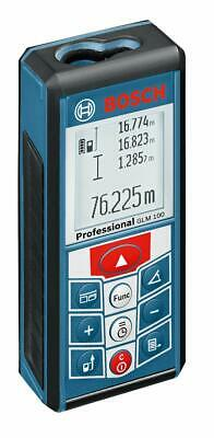 Bosch 0601072p40 Glm 100 Laser Distance Measurement Device Rechargeable