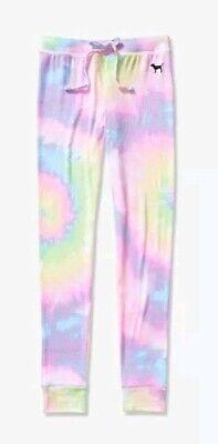 Jersey Tights Leggings (Vs Victorias Secret Pink Cozy Jersey Sleep Pant Tight Leggings Pajama Pink M )