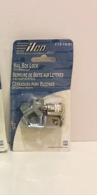 Ilco Mail Box Lock With Spring Clip 113-14-51