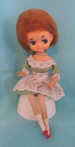 Vintage Big Eye Pose Doll Japan 60