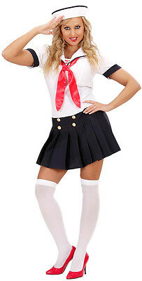 Sexy Sailor Girl Matrosin Kostüm NEU - Damen Karneval Fasching Verkleidung (Sexy Girl Kostüme)