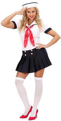 Sexy Sailor Girl Matrosin Kostüm NEU - Damen Karneval Fasching Verkleidung Kostü (Neu Karneval Kostüme)
