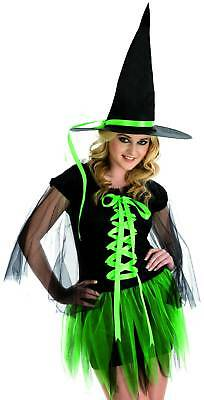 CLEARANCE  Womens RIBBON WITCH Halloween Costume Various Sizes Col