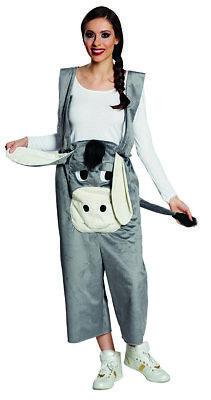 Rubies 14904 - Esel Latzhose * Erwachsene Esel Kostüm Gr. S-M-L-XL