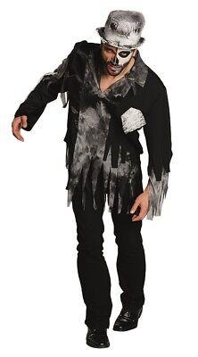 RUB 14908 Zombie Bräutigam Herren Karneval Halloween Kostüm Skelett