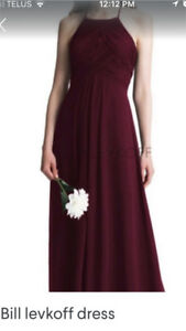 ISO Wine Coloured, David's Bridal, Sz 10/12