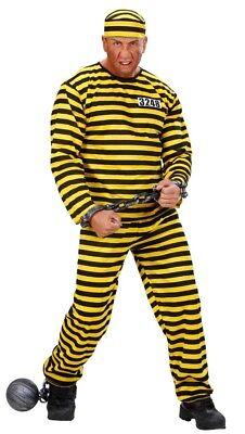 Sträfling Herren Kostüm Daltons Western Häftling Gefangener - Herren Gefangener Kostüm
