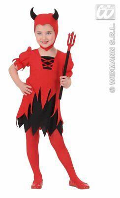 Kostüm Mädchen süße kleine Teufelin  Gr.110 für 3-4 Jahre