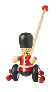 Soldiers On Guard - Wooden Gift Present Kids Children Painted Colourful Toy Boys