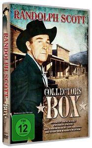 DVD *Randolph Scott Collectors 4 Western Filme Edition *NEU OVP