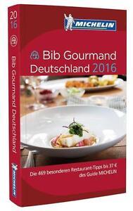 Buch Michelin Bib Gourmand Deutschland 2016
