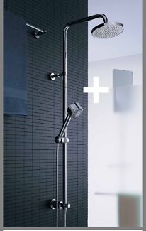 Twin Rail Shower- Technobili Plus
