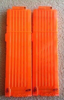 X2 NERF Orange 18 Eighteen Round Magazine Dart Clip