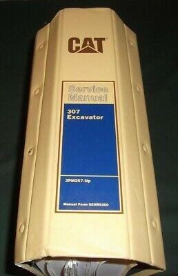 Cat Caterpillar 307 Excavator Service Shop Repair Book Manual Sn 2pm00257-up