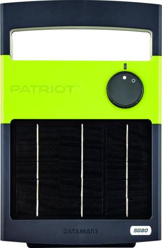 Patriot Solarguard 80, Solar Charger energizer 12 Acres/3 miles
