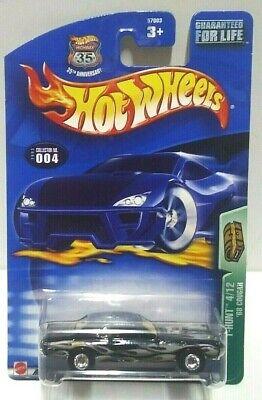 2003 Hot Wheels Treasure Hunt '68 Cougar Real Riders! w/Protector Pack