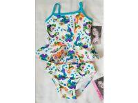 NEW Gap Girls Swimsuit Mermaid Ocean Print NWT M 8 L 10 XL 12 XXL 14 16 year