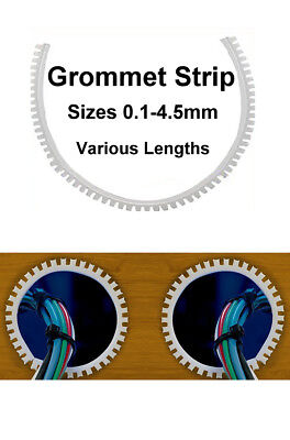 Quality Flexible Grommet Strip For Panel Electrical Protection Serrated Edging
