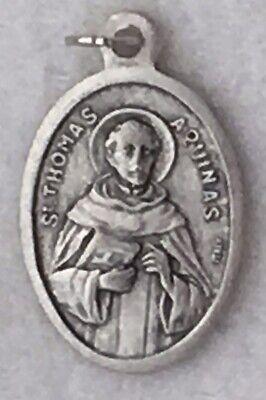 ST THOMAS AQUINAS Catholic Saint Medal patron theologians colleges students
