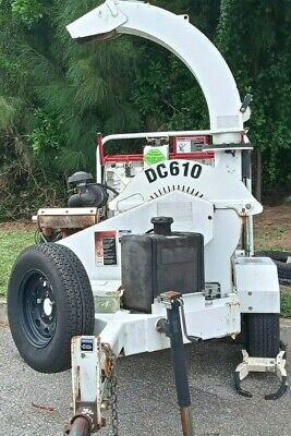 Altec Dc610 10 X 6 Towable Wood Brush Chipper- Serviced And Ready To Work