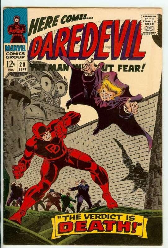 DAREDEVIL #20 8.5