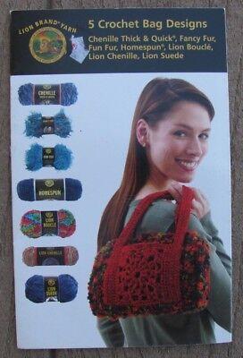 - 5 Crochet Bag Options, Lion Brand, 2005