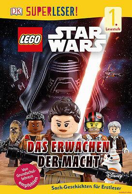 Fachbuch LEGO® Star Wars™ Das Erwachen der Macht, SUPERLESER Lesestufe 1, NEU