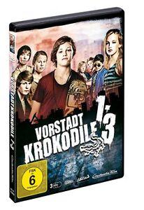 3 DVDs * VORSTADTKROKODILE  1 + 2 + 3 BOX ~ MB - Nora Tschirner # NEU OVP +