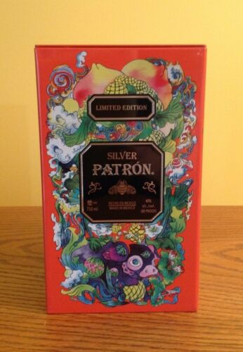 2019 PATRON TEQUILA CHINESE YEAR OF THE PIG LIMITED EDITION COLLECTORS TIN RARE!