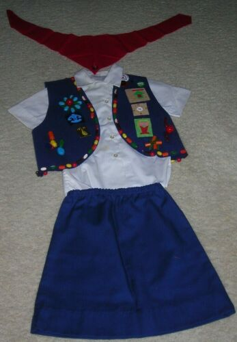 1971 Camp Fire Girls Outfit