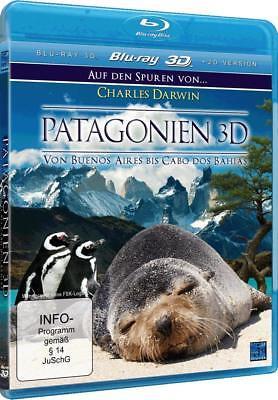 Blu-Ray - Patagonien 3D - Charles Darwin de Buenos Aires Bis Cabos Bahias segunda mano  Embacar hacia Argentina
