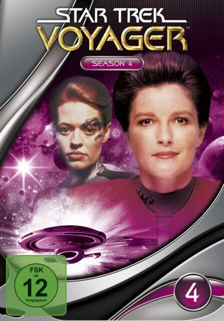 7 DVDs *  STAR TREK - VOYAGER - Komplett Season / Staffel 4 - MB  # NEU OVP +