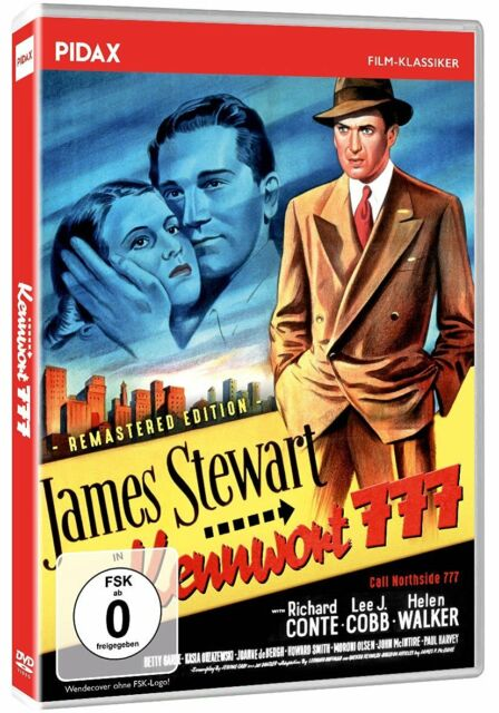 Kennwort 777 - Remastered Edition * Packender Film Noir mit James Stewart Pidax