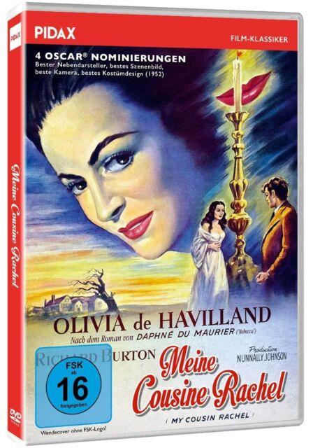 Meine Cousine Rachel * Verfilmung mit Olivia de Havilland Richard Burton Pidax