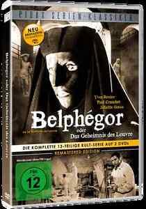 Belphegor oder Das Geheimnis des Louvre * Kult Serie DVD Neu Ovp