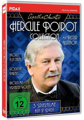 Agatha Christie: Hercule Poirot-Collection, Peter Ustinov DVD 3 Filme