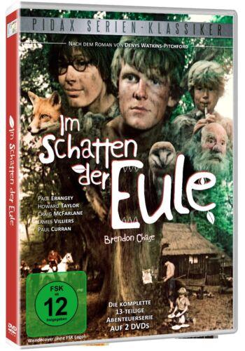 Im Schatten der Eule * DVD Kult Jugend Serie Abenteuer Pidax Neu Ovp